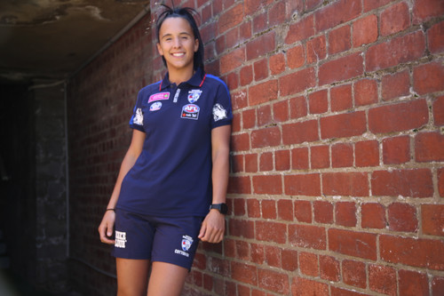 Western Bulldogs AFLW Media Polo Ladies