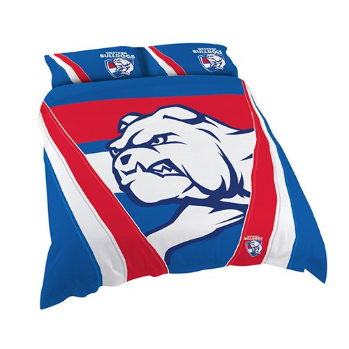 Western Bulldogs Doona Cover King