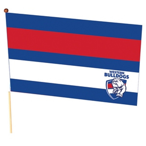 Western Bulldogs Medium Flag