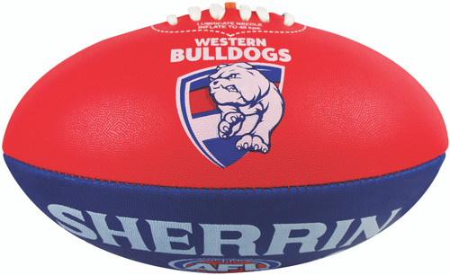 Western Bulldogs Brand Size 5 Football