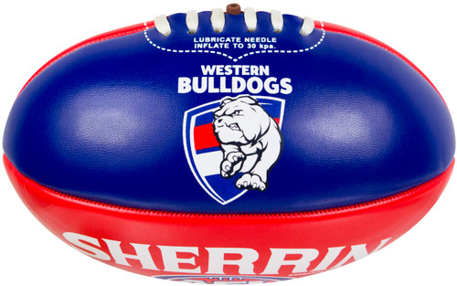 Western Bulldogs Mini 20cm Football