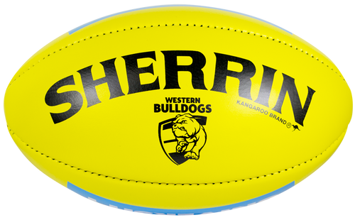 Western Bulldogs Yellow Match Day Football