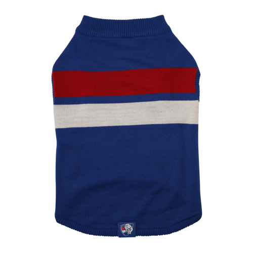 Western Bulldogs Dog Jumper - Small
