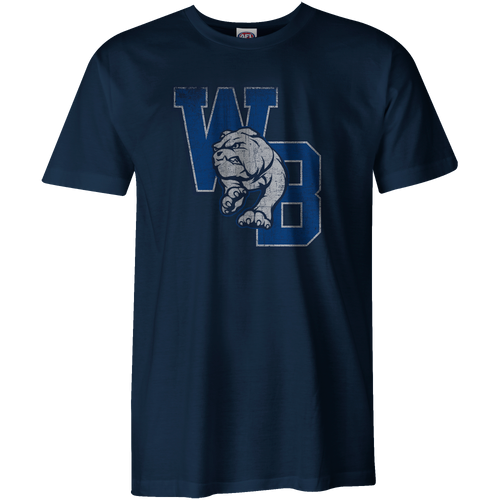 Western Bulldogs 2020 Collegiate T-Shirt - Navy