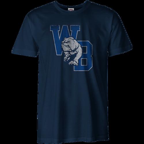 Western Bulldogs 2020 Collegiate T-Shirt - Navy