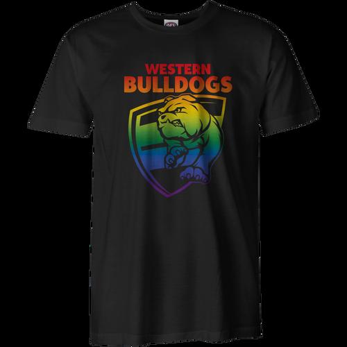 Western Bulldogs Adult Pride Tee