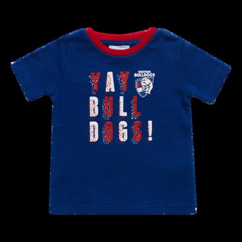 Western Bulldogs 2020 Babies Yay Tee