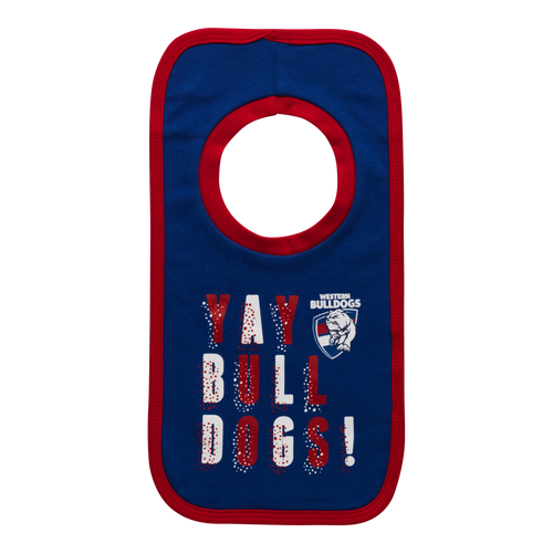 Western Bulldogs 2020 'Yay' 2 Pack Bib Set