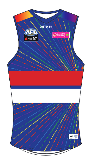 2019 AFLW Youth Pride Guernsey