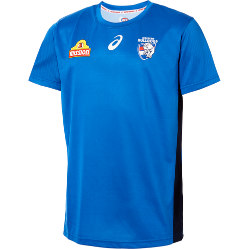 2019 Asics Training Tee Blue