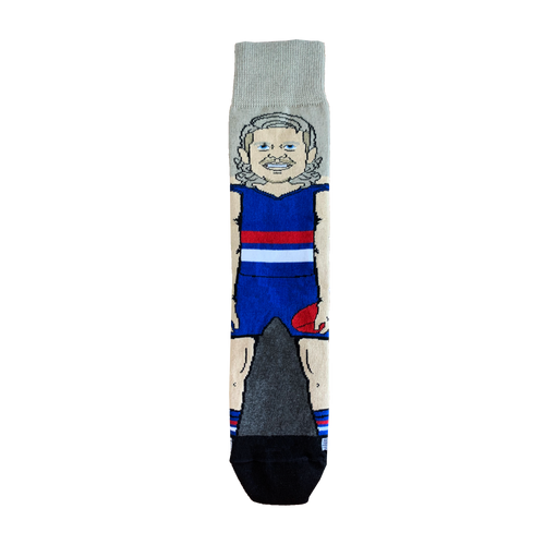 Western Bulldogs Bailey Smith Sock - Youth