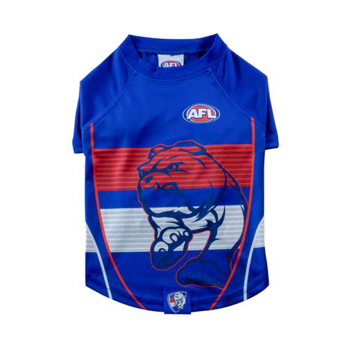 Western Bulldogs Dog Tee