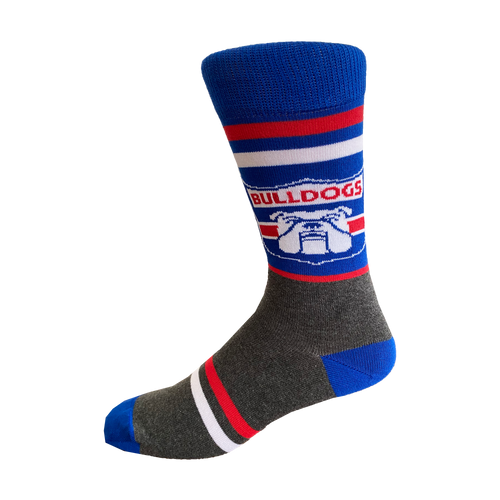 Western Bulldogs Retro Sock