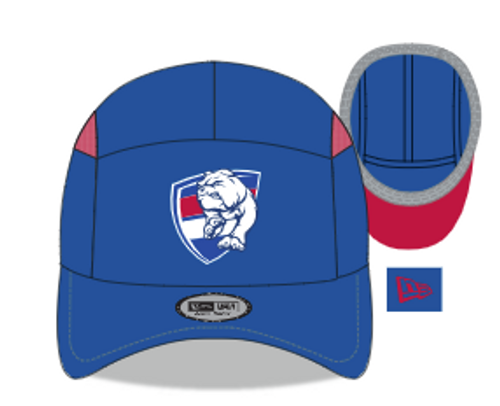 Western Bulldogs 2021 AFLW New Era Cap