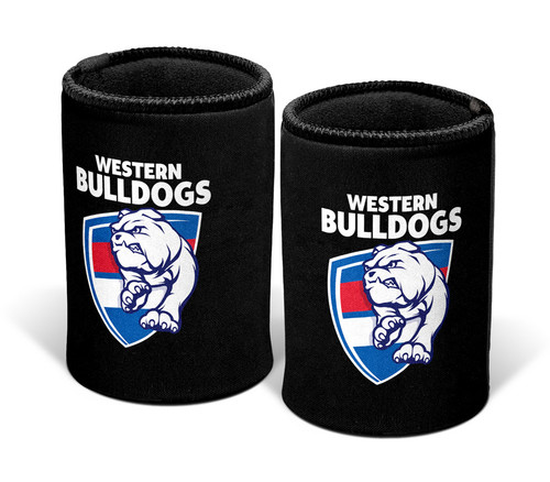 Western Bulldogs 2021 Logo Can Cooler - Black
