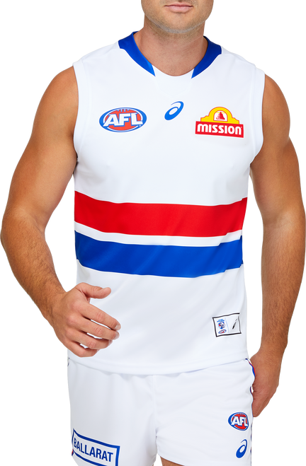 2021 Asics Western Bulldogs Clash Guernsey - Adult
