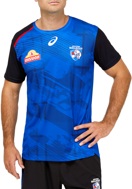 2021 Western Bulldogs Asics Training Tee