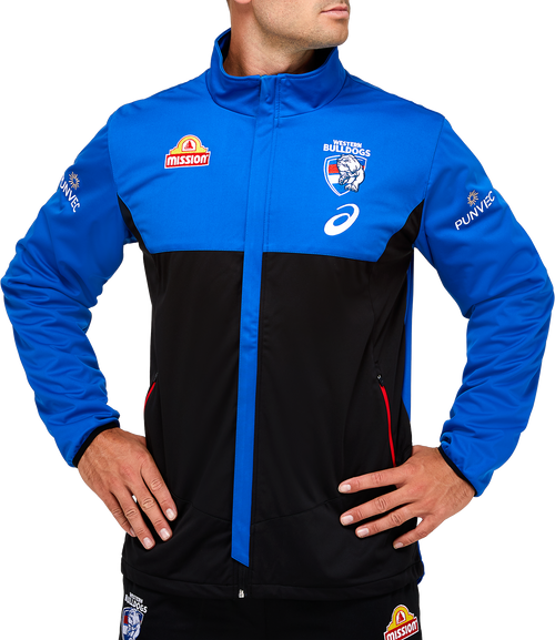 2021 Western Bulldogs Asics Travel Jacket