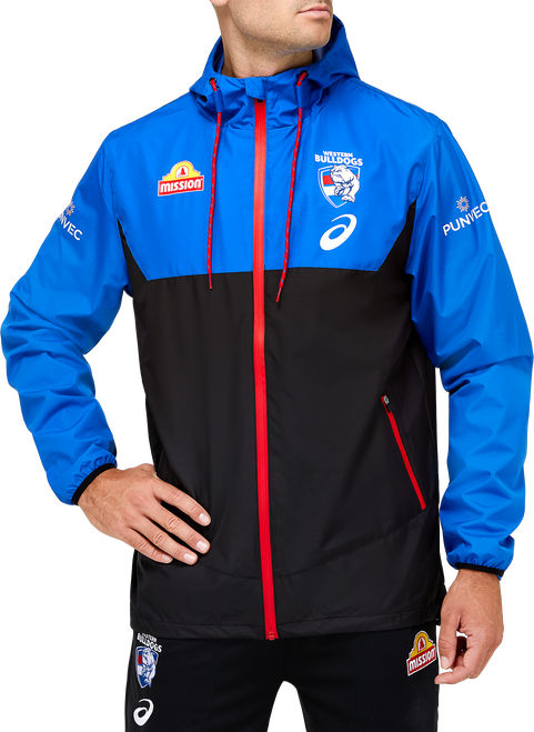 2021 Western Bulldogs Asics Wet Weather Jacket