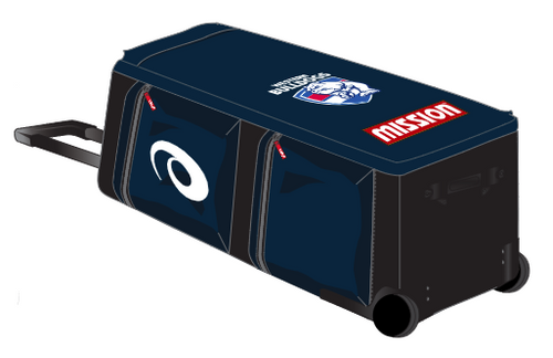 Western Bulldogs Asics Wheelie Bag