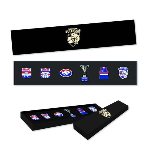 Western Bulldogs 2021 Collectors Pin Set