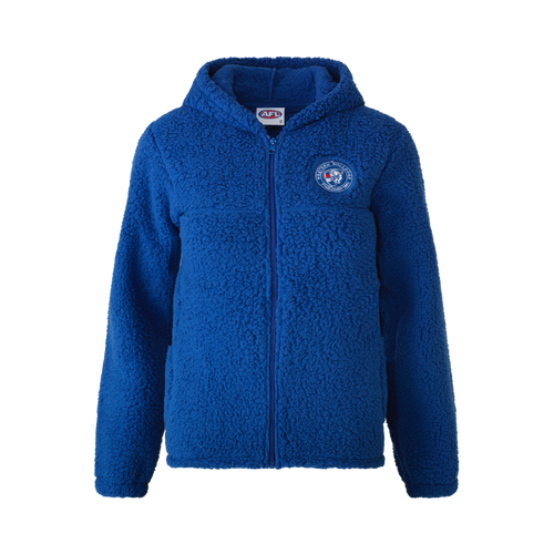Western Bulldogs 2021 Ladies Sherpa Hood