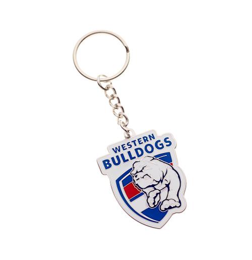 Western Bulldogs Logo  Keyring