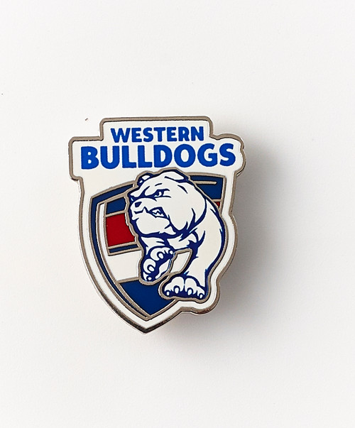 Western Bulldogs Logo  Pin