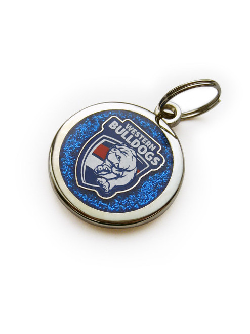 Western Bulldogs Pet  Tag