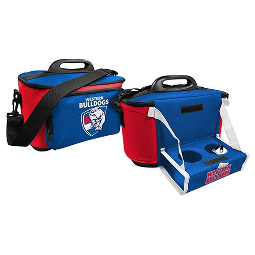 Western Bulldogs Cooler Bag with Drink Tray