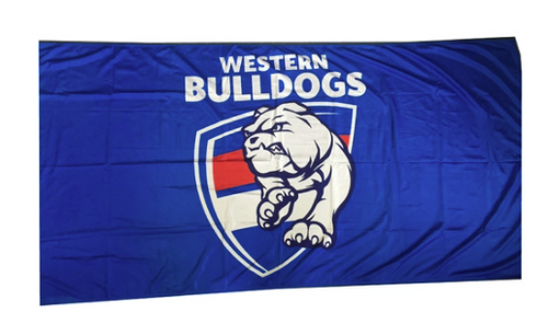 Western Bulldogs Flagpole Flag