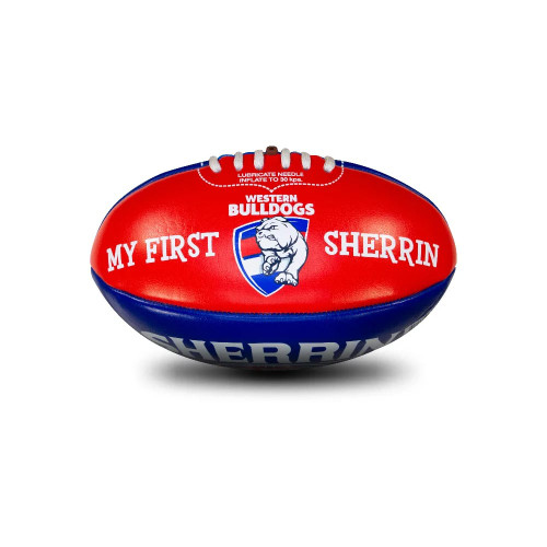 Western Bulldogs My First Sherrin
