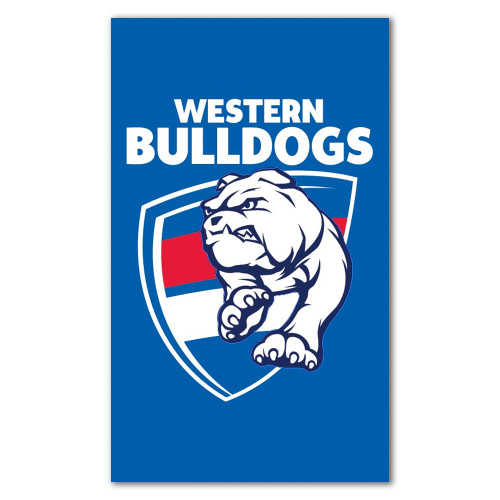 Western Bulldogs Supporter Flag