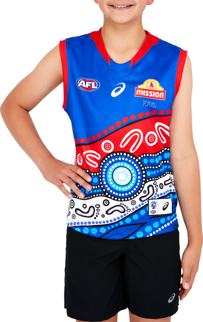 Western Bulldogs 2021 Indigenous Guernsey - Youth