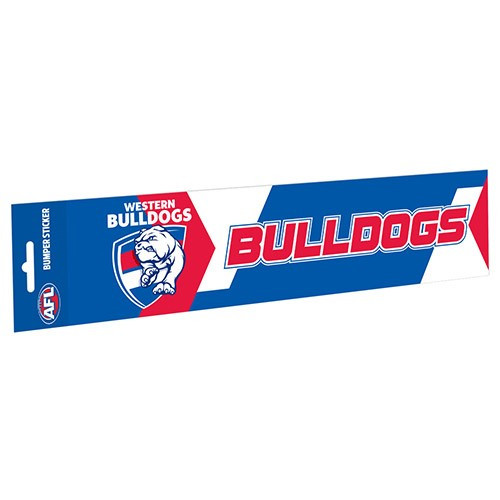 Western Bulldogs Bumper Sticker