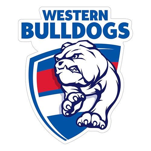 Western Bulldogs Logo Sticker