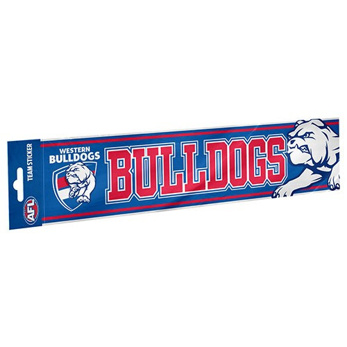 Western Bulldogs Collegiate Bumper Sticker