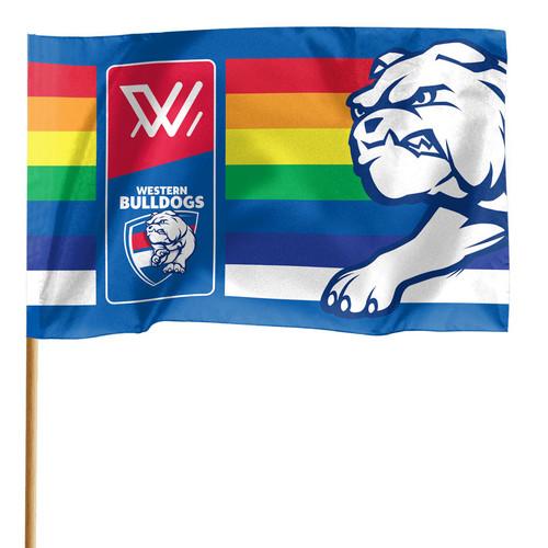 Western Bulldogs Pride Flag