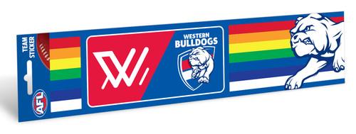 Western Bulldogs Pride Bumper Sticker