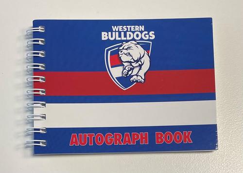 Western Bulldogs Autograph Book