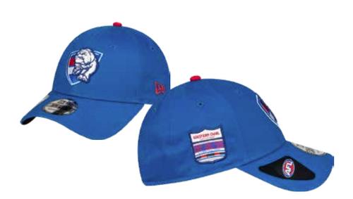 Western Bulldogs 2021 NewEra Side Hit Cap