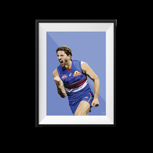 Marcus Bontempelli Geometric Print - Framed A4