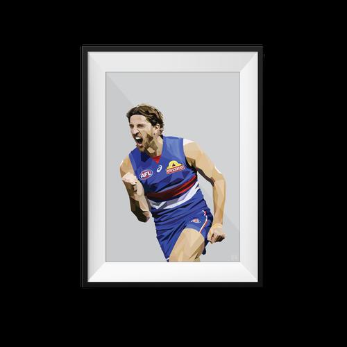 Marcus Bontempelli Geometric Print - Framed A3