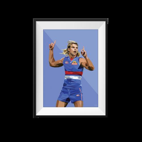 Bailey Smith Geometric Print - Framed A4