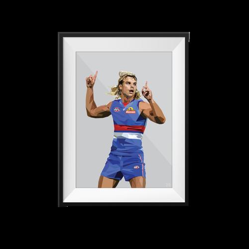 Bailey Smith Geometric Print - Framed A3