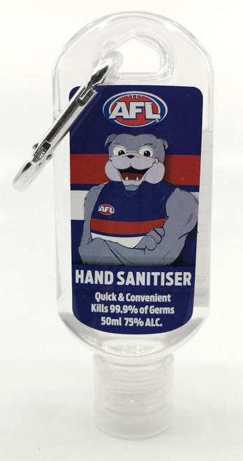Western Bulldogs Mascot Hand Sanitiser