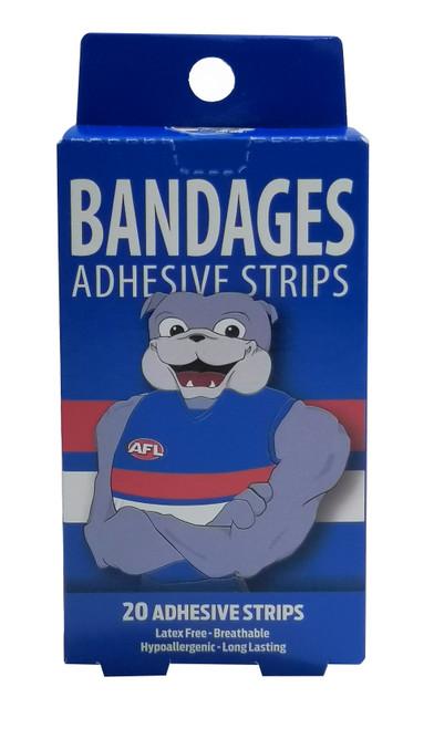 Western Bulldogs Mascot Bandages