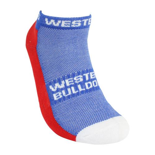 Western Bulldogs Sport Ankle Socks 2 Pack