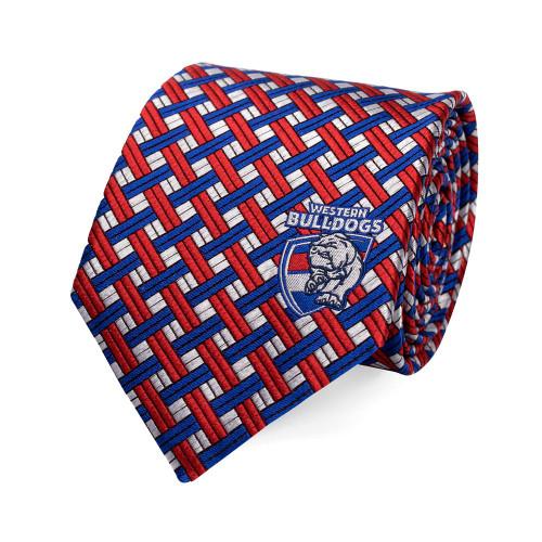 Western Bulldogs Silk Tie