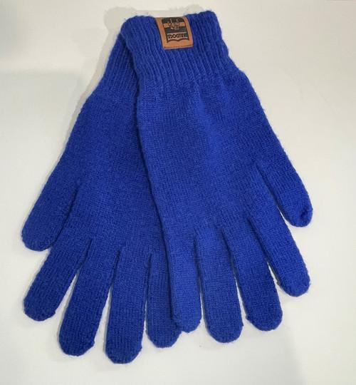 Western Bulldogs Wool Gloves - Blue